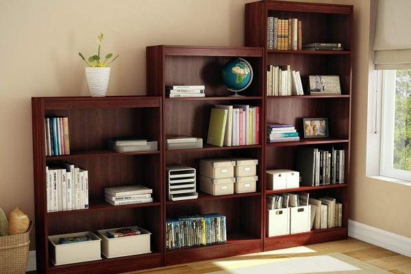 Bookcase parcel service