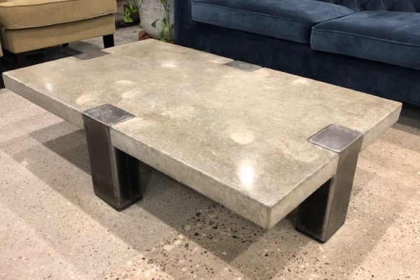 Concrete furniture parcel service