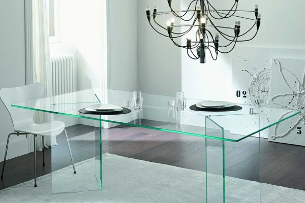 Glass furniture parcel service