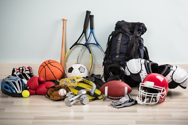 Sports equipment Donations Parcel Service