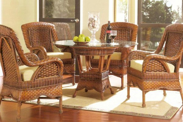 Wicker furniture parcel service