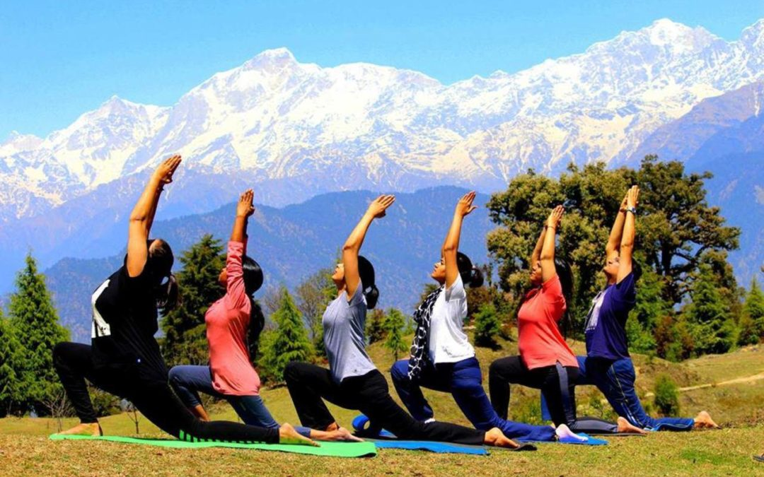 Yoga in the Himalayan Foothills to Rishikesh